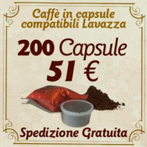 200 Capsule_Lavazza