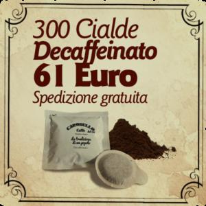 Cialde caffè decaffeinato Carosello caffè