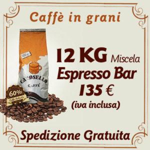 Caffè in grani per bar Espresso Bar 12 Kg