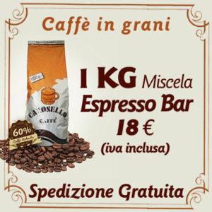Caffè in grani per bar Espresso Bar