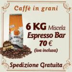 Caffè in grani per bar Espresso Bar 6 Kg
