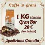 Caffè in grani per bar Miscela Gran bar 1 kg
